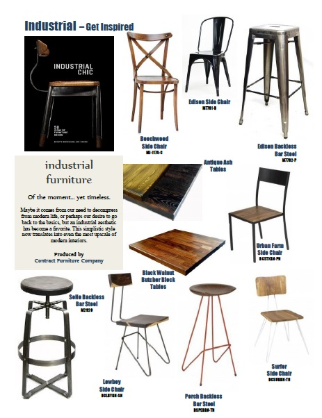 Industrial Furniture Inspiration Board