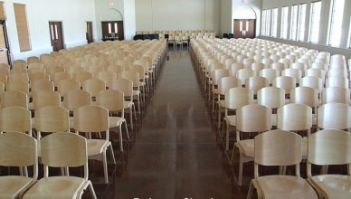 Redeemer Church - New Chairs