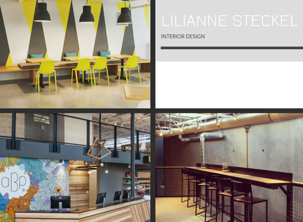 Lilianne Steckel and Contract Furniture Company