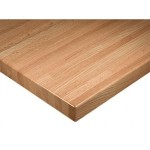 How to clean wood restaurant table tops