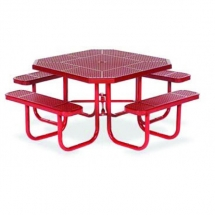 46-octagon-plastisol-table-with-umbrella-hole-and-attached-seats