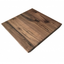 black walnut live edge restaurant table tops industrial