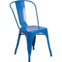 outdoor-industrial-style-restaurant-chairs-blue- westinghouse-sidechair
