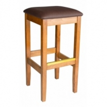 holsag bulldog upholstered backless bar stool