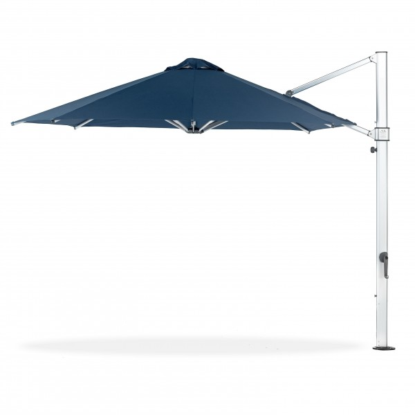 11ft Octagon Aurora Atherton Cantilevered Commercial Outdoor Restaurant Pool Hotel Resort Patio Umbrella