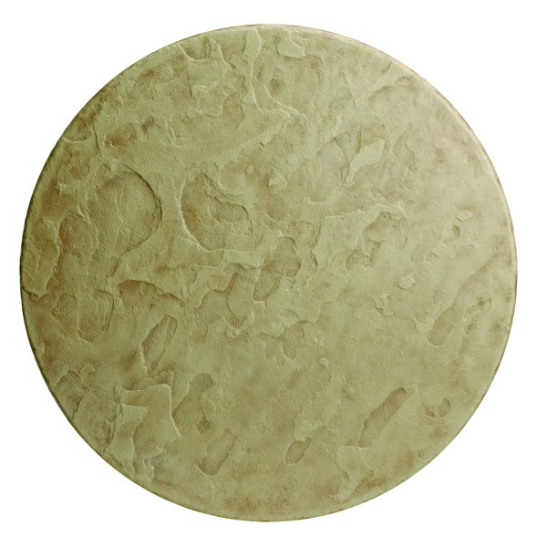 "20"" Round Faux Stone Table Top"