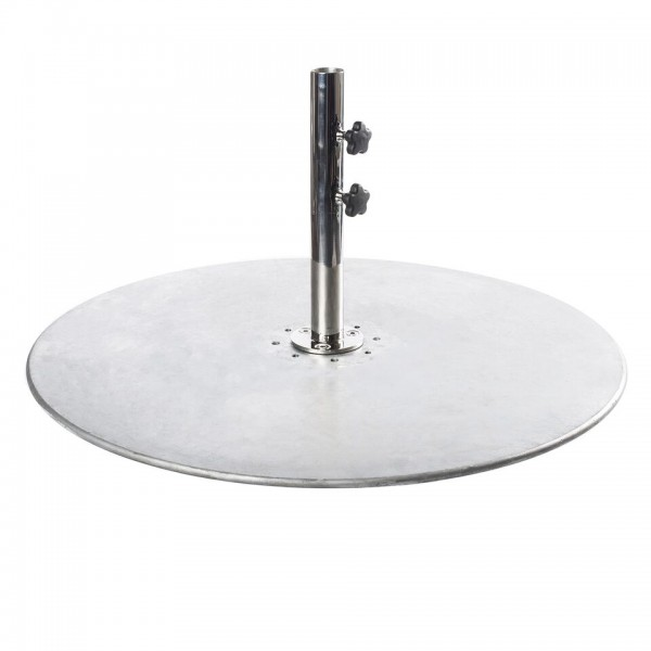 "36"" Round Galvanized Steel Umbrella Base"