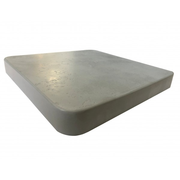 42x42 square Faux Concrete Outdoor Commercial Restaurant Bistro Table Top