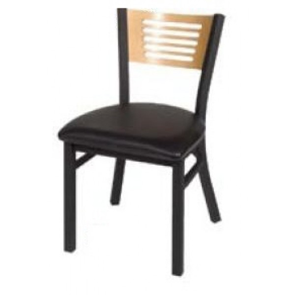 5 Line Wood Back Dining Chair SL2150-5