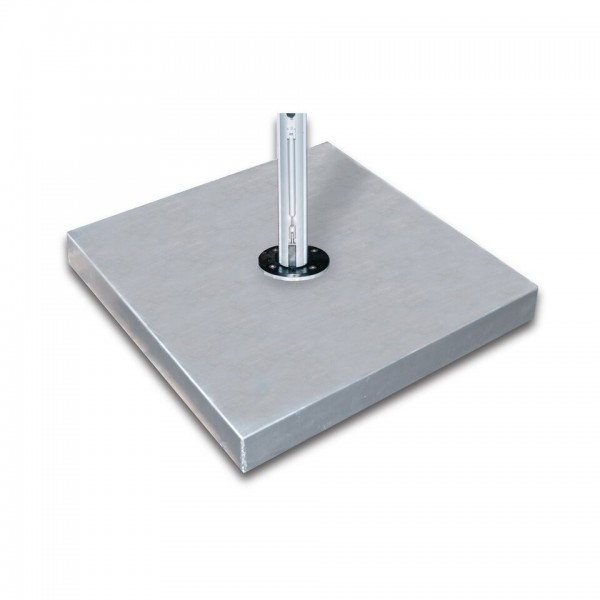 "44"" Square Galvanized Steel Base"