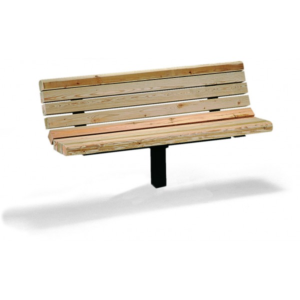 Awesome 6 Single Post Commercial Bench Douglas Fir Ibusinesslaw Wood Chair Design Ideas Ibusinesslaworg