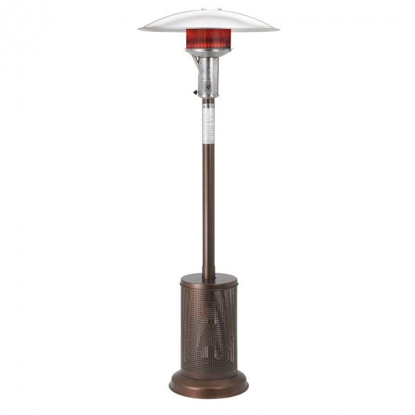 A270 Sunglow Outdoor Commercial Restauarnt Hospitality Dining Propane Heater Bronze