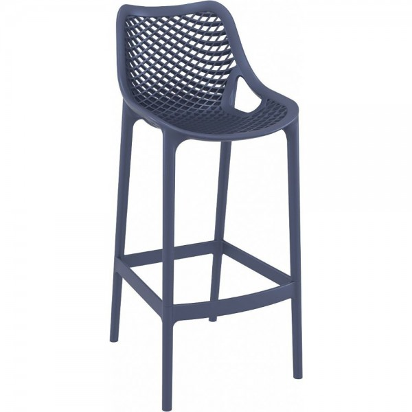 Air Stacking Resin Bar Stool