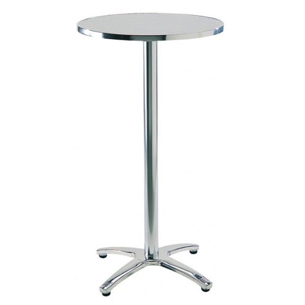 "Aluminum Restaurant Bar Tables 24"" Round Classic Bar Table"