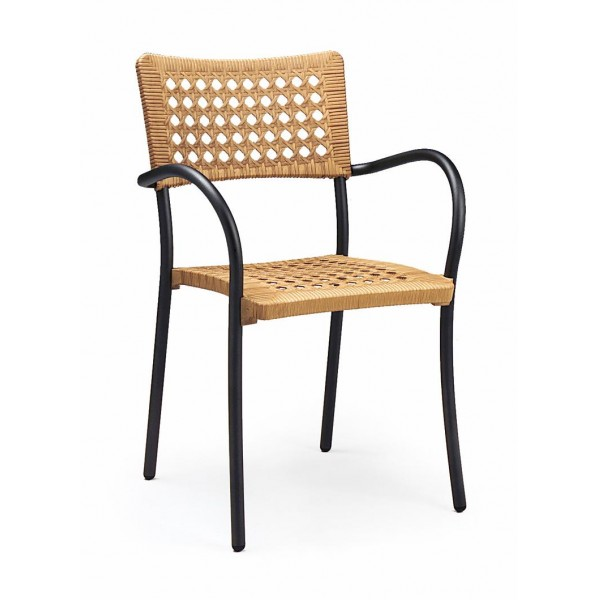 Artica Stacking Resin Arm Chair