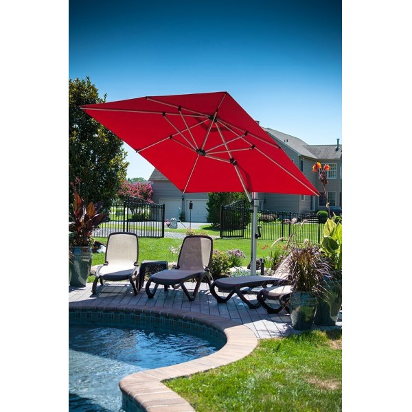 Atherton 9' Square Umbrella