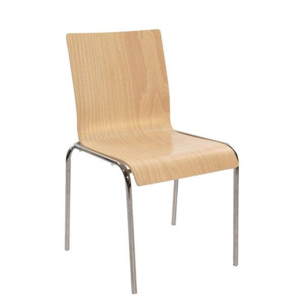 Bent Wood Stacking Side Chair S10-SQ