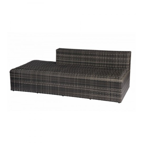 Canaveral Eden Armless Loveseat Sectional