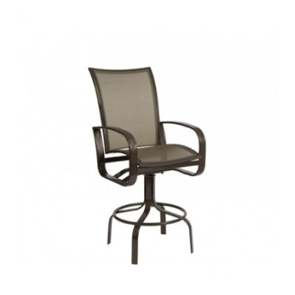 Cayman Isle Flex Swivel Bar Stool
