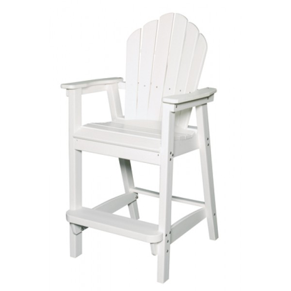 Classic Adirondack Bar Chair-Stool
