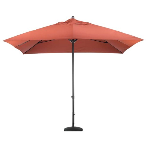 Commercial Restaurant Umbrellas 11ft Square Aluminum Slide Lift Market Umbrella