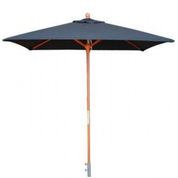 Commercial Restaurant Umbrellas 5.5ft Square Cafe Market Umbrella