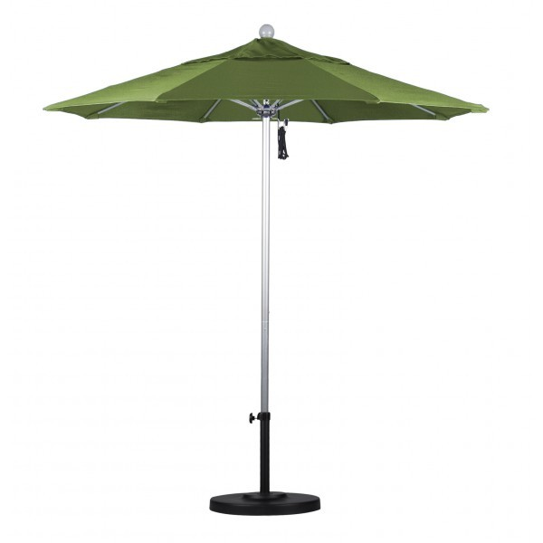 Commercial Restaurant Umbrellas 7.5ft Octagon Fiberglass Rib Market Umbrella