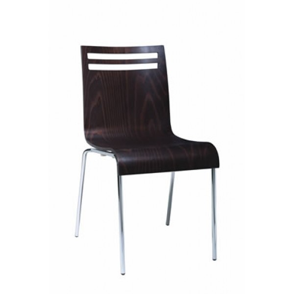 Contemporary Restaurant Solid Beech Wood Side Chair CFC-159F