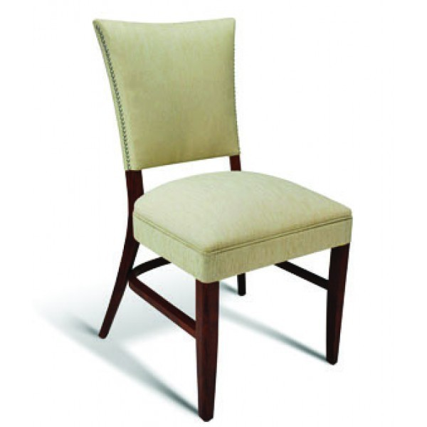 Eco Friendly Restaurant Beech Solid Wood Side Chair CC107 Series