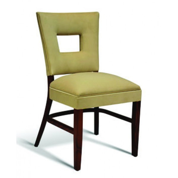 Eco Friendly Restaurant Beech Solid Wood Side Chair CC119 Series