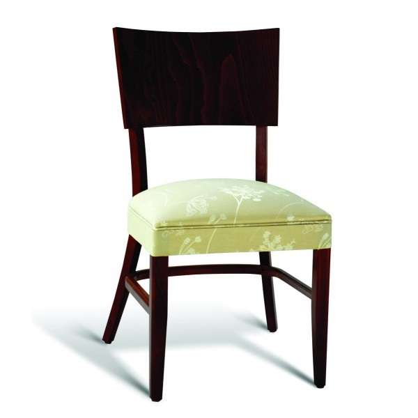 Eco Friendly Restaurant Beech Solid Wood Side Chair CC135 Series
