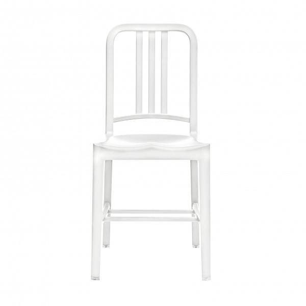 Eco Friendly Restaurant Breakroom Chairs 111 Navy Recycled Chair - Snow