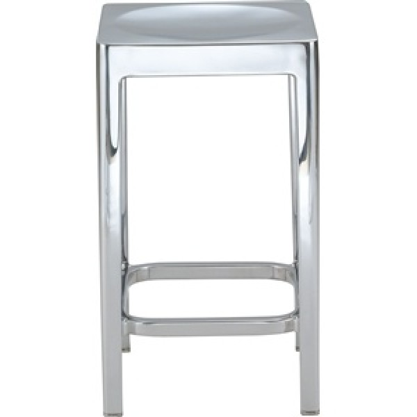 Emeco Aluminum Backless Counter Stool