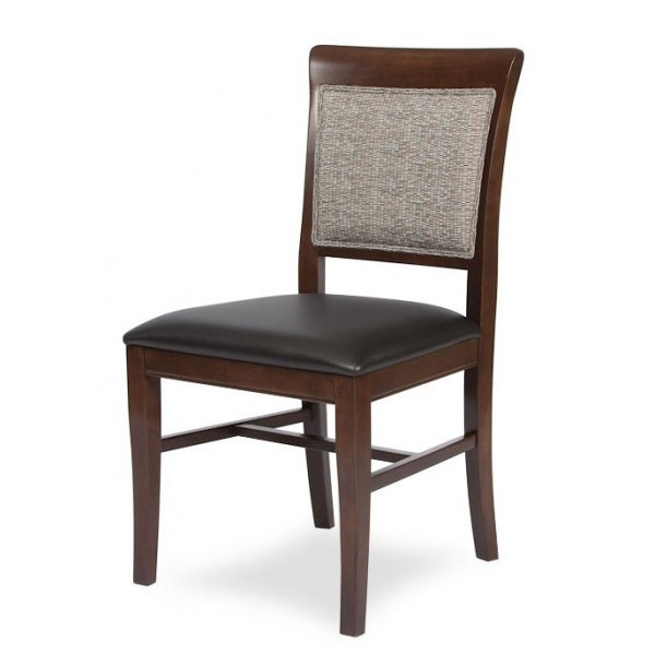 European Beech Solid Wood Restaurant Side Chairs Holsag Remy Side Chair
