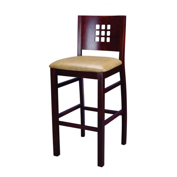 European Beech Solid Wood Upholstery Restaurant Bar Stools European Beech Solid Wood Upholstery Restaurant Bar Stools Beechwood Bar Stool 2780P