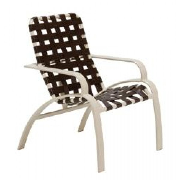 Evolution Crossweave Strap High Back Dining Chair