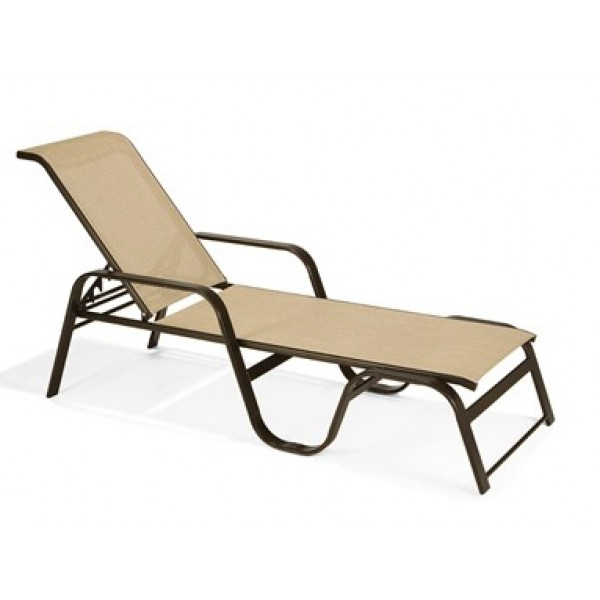 Evolution Sling Stacking Chaise Lounge