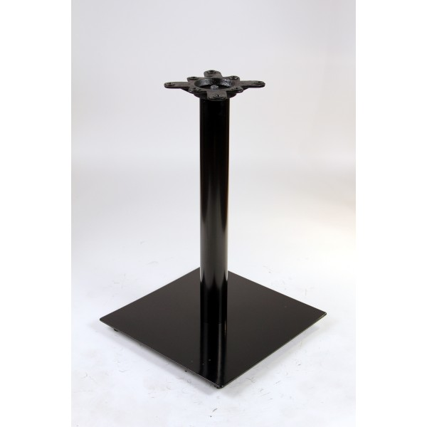 "Commercial Restaurant Table Bases 18"" Square Table Base Expectation Series - Black"