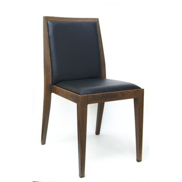 Faux Wood Grain Metal Restaurant Side Chairs Wood Grain Metal Frame Side Chair M955P