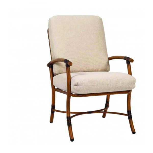 Glade Isle Cushion Dining Arm Chair
