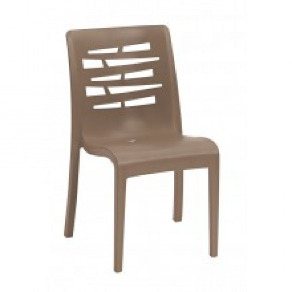 Grosfillex Essenza Stacking Side Chair