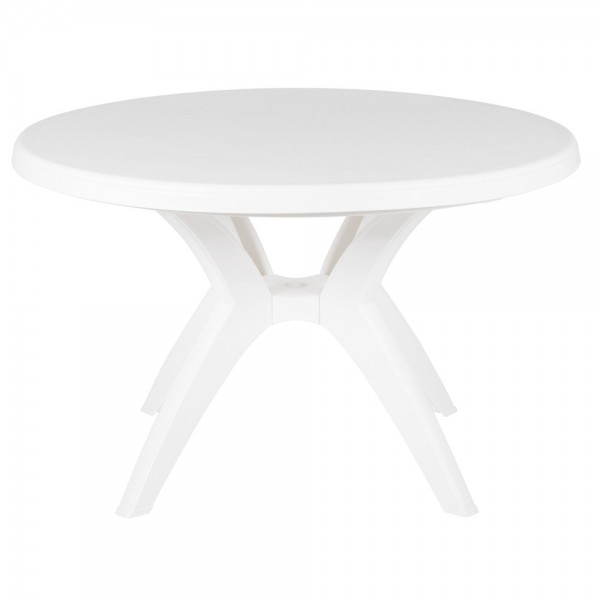 "Restaurant Outdoor Tables Ibiza 46"" Round Table"