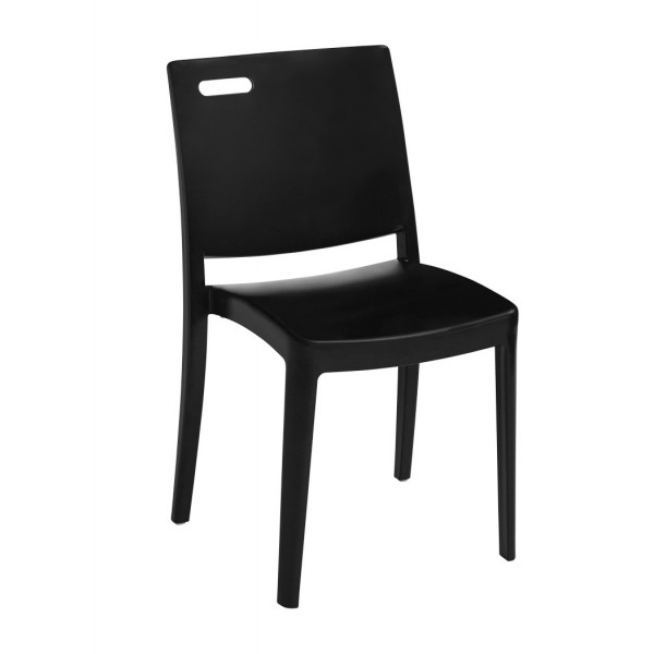 Restaurant Hospitality Outdoor Chairs Metro Stacking Side Chair