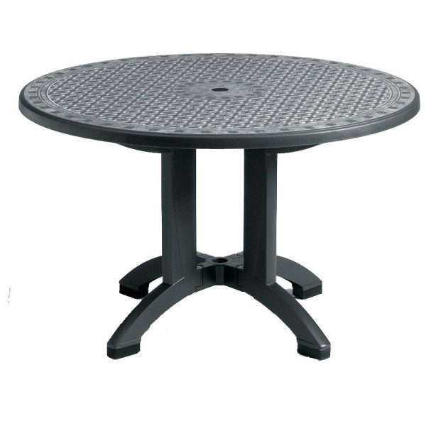 "Restaurant Outdoor Tables Toledo 38"" Round Folding Table"