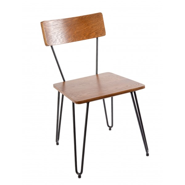 Hairpin Bend Hospitality Side Chair