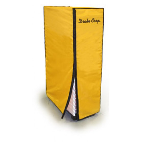 High Quality Chair Stack Cover, 25 Capacity, Nylon/PVC - Yellow