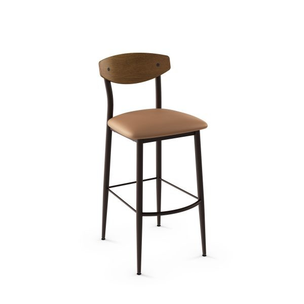 Hint 40202-USWB Hospitality distressed metal dining stool