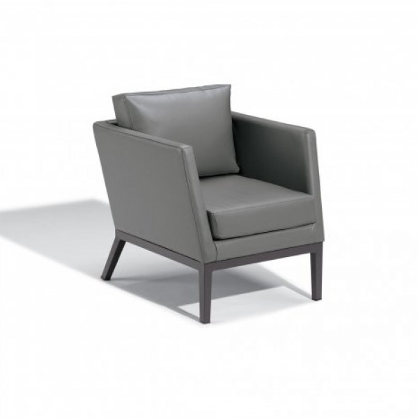 Hospitality Restauarant Hotel Pavion Salino Upholstered Outdoor Deep Seating Club Chair