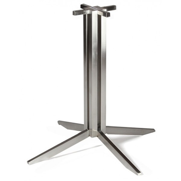 Industrial Metal Restaurant Table Bases Gehry Stainless Steel Industrial Table Base