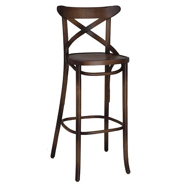 Industrial Restaurant Bar Stools Cortona Beechwood Bar Stool CFC-317AC